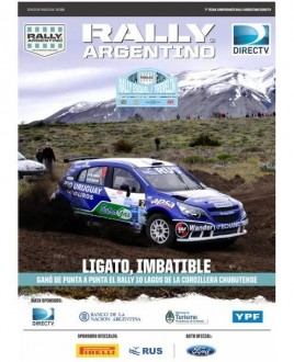 Rus junto al tango rally team en la revista del rally for Revistas del espectaculo argentino