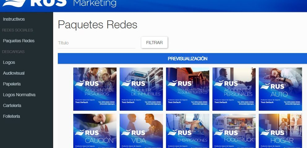Portal de Marketing RUS