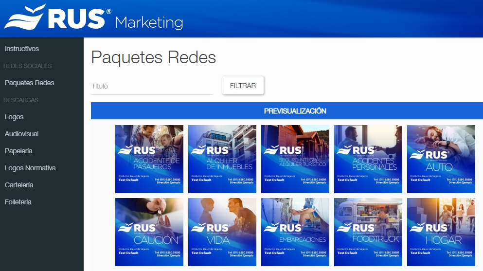 Portal de Marketing RUS